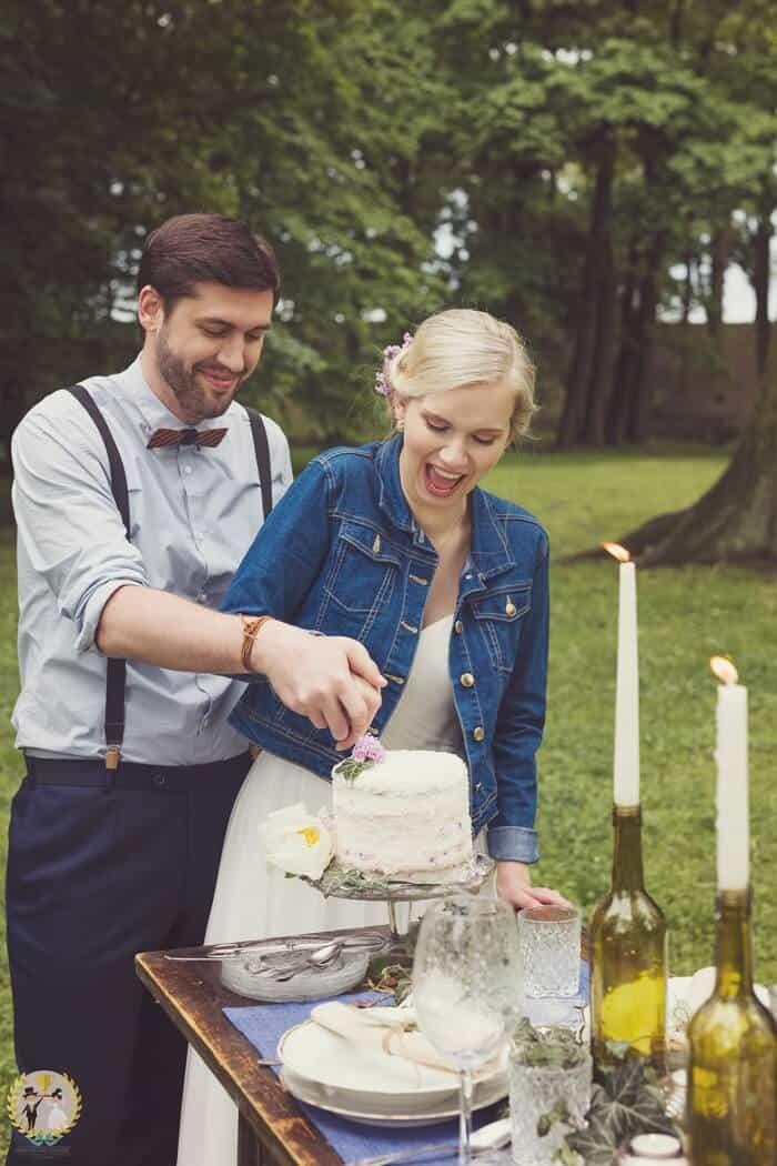 Inspirace pro vaši svatbu - krajeni dortu
