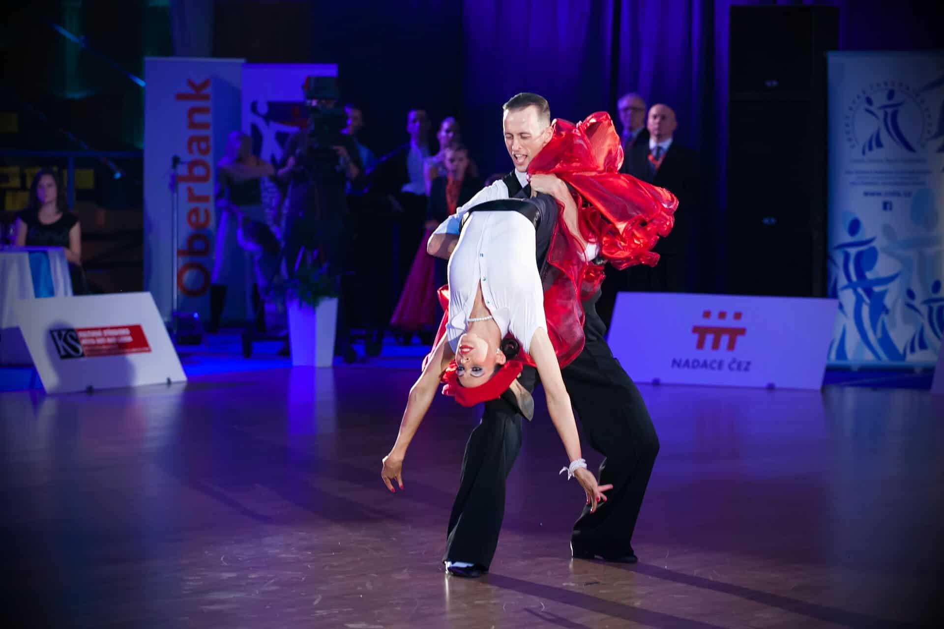 Taneční show na svatební párty 3522