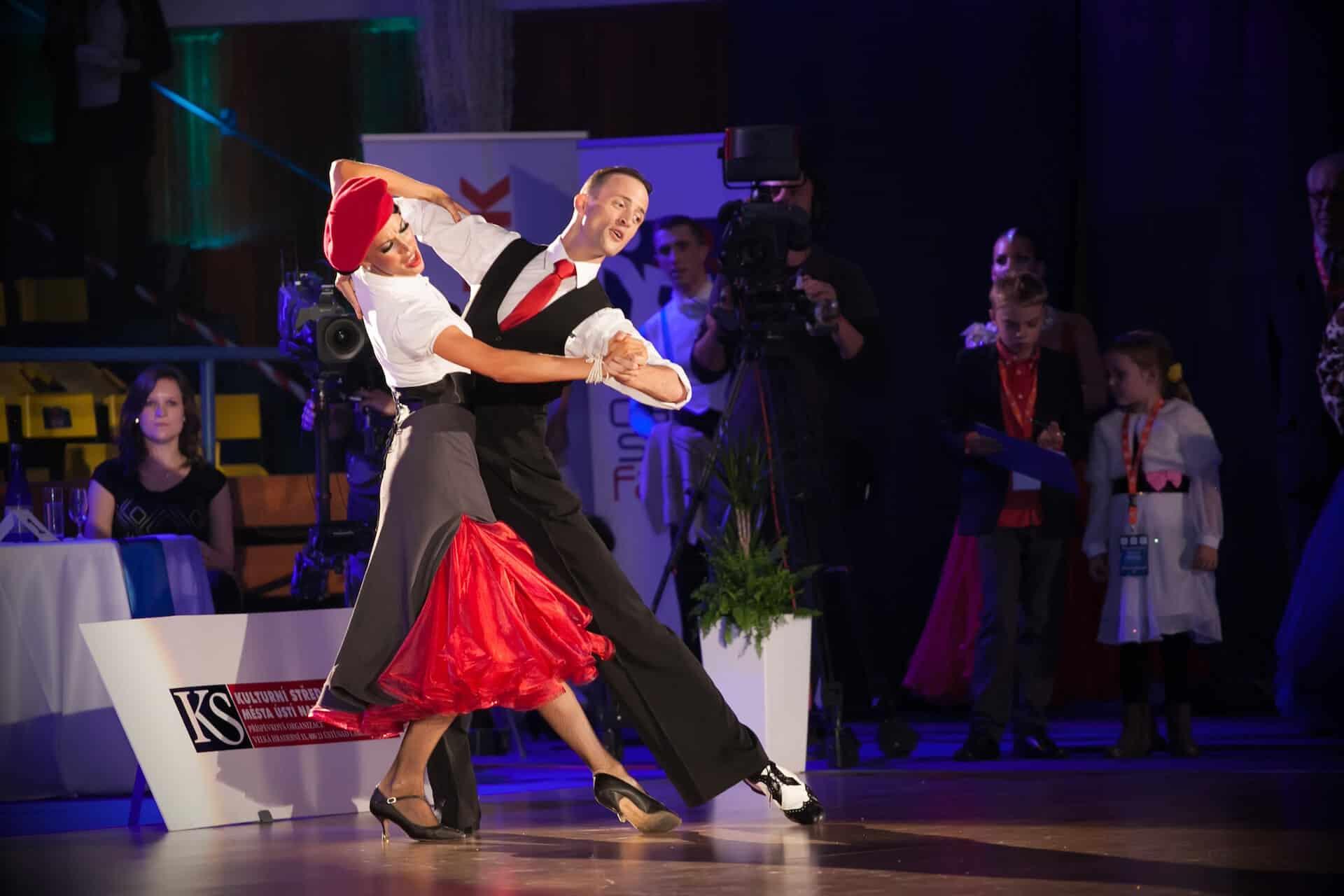 Taneční show na svatební párty 3527