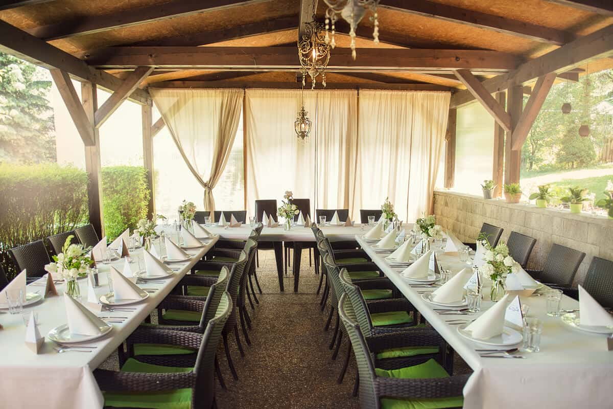 Na Krásné vyhlídce - svatební hostina