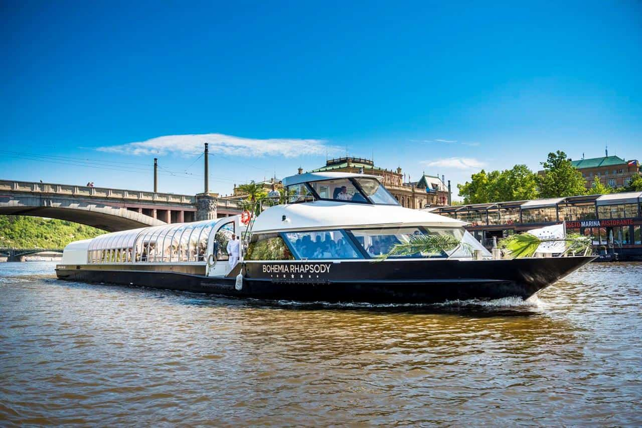 Prague Boats - loď Bohemia Rhapsody