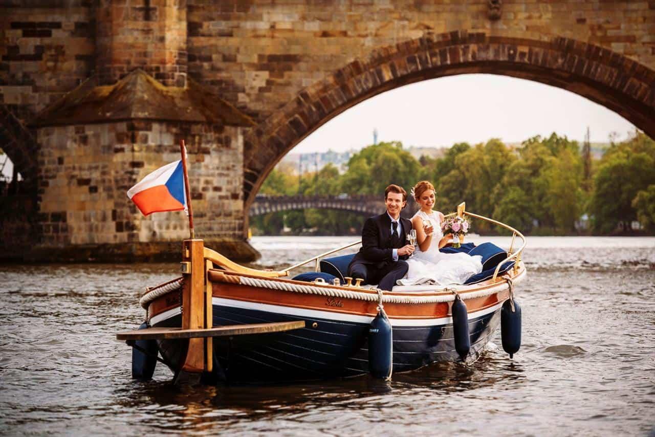 Prague boats svatební projížďka na lodi