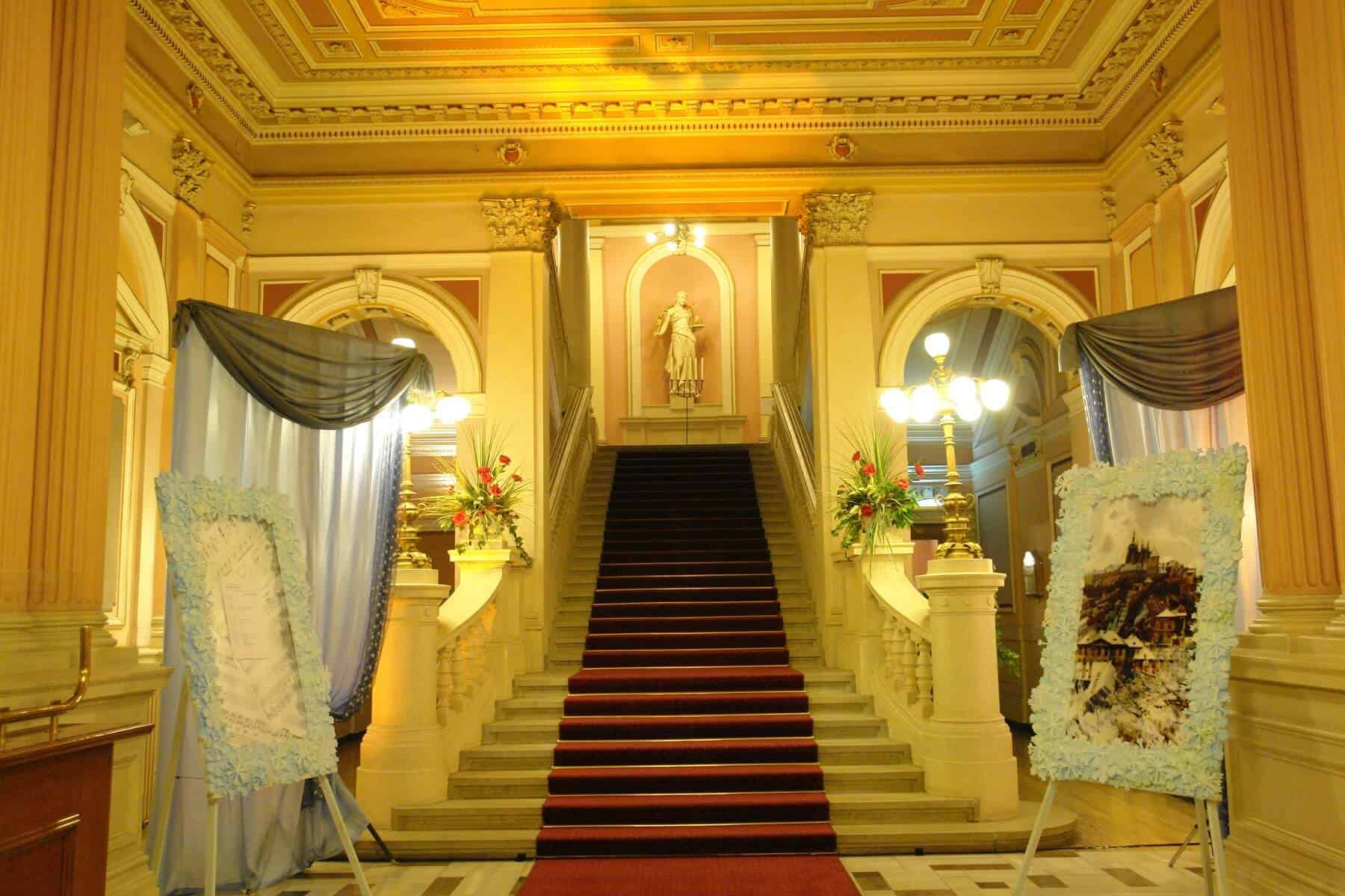 Národní dům - vchod
