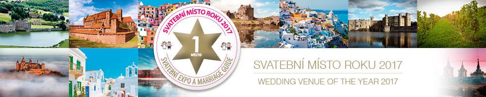 Hlasujte pro vaše svatební místo roku 2017