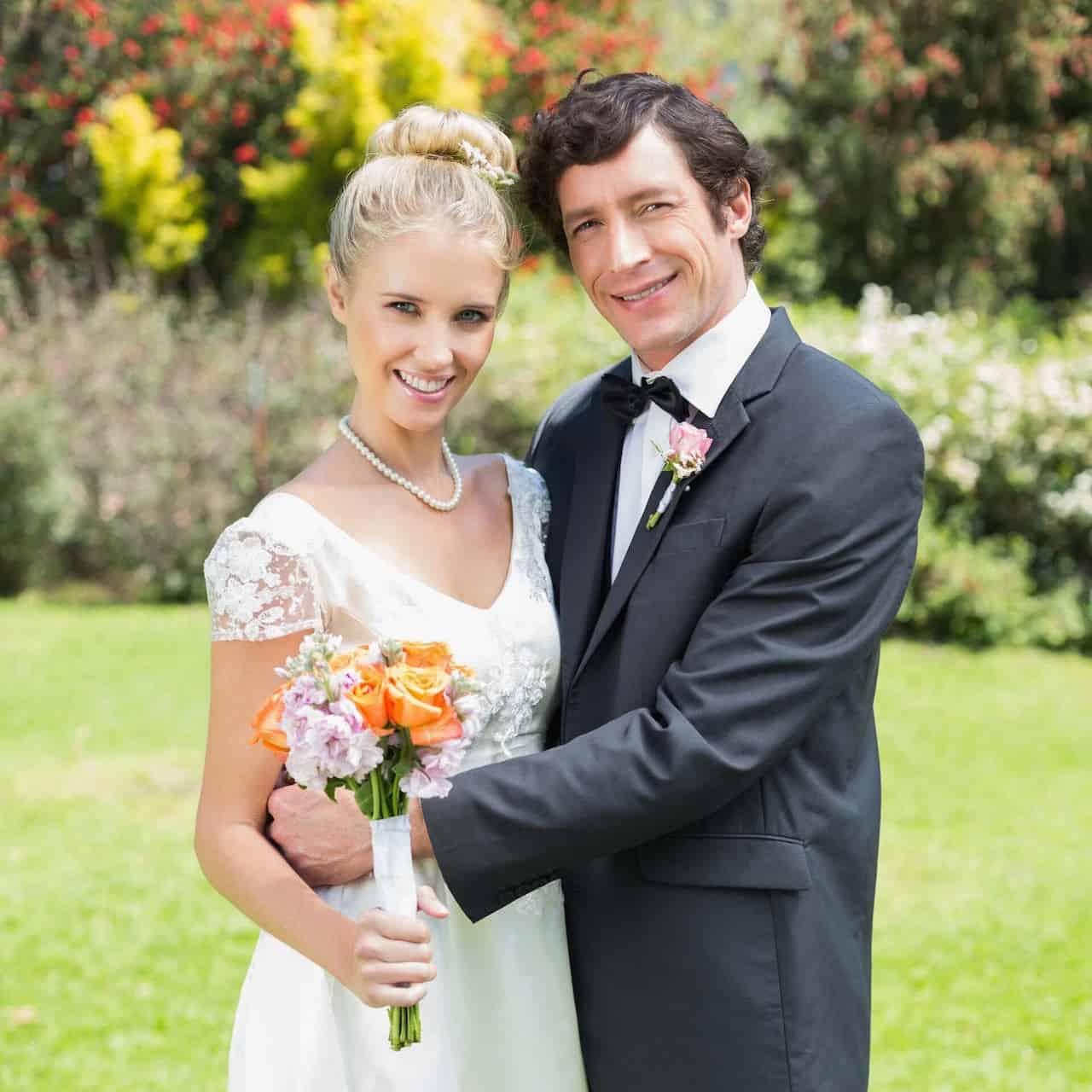 Svatba s cizincem, společné foto
