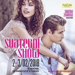 2.-3. února 2018 Svatební SHOW Brno