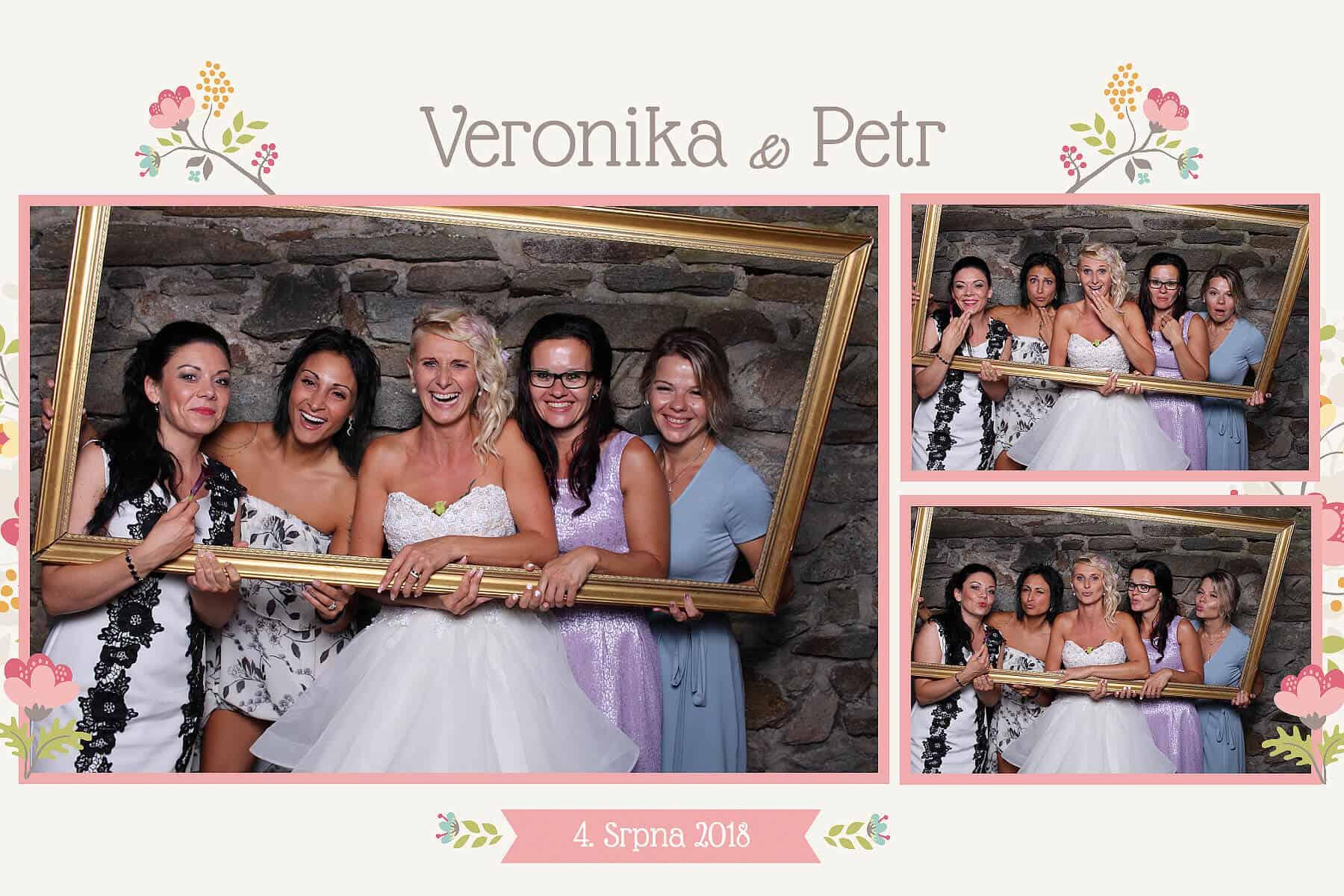 Fotokoutek na svatbu Dunobox s obrazem