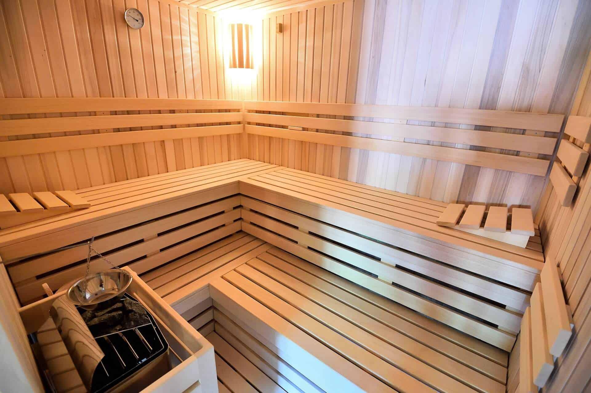Statek Vletice - sauna