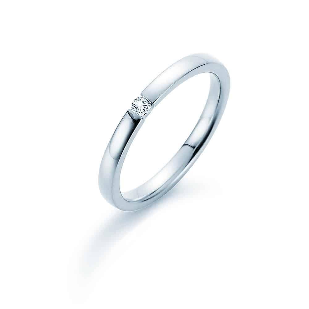 Halada zásnubní prsten s kamínkem