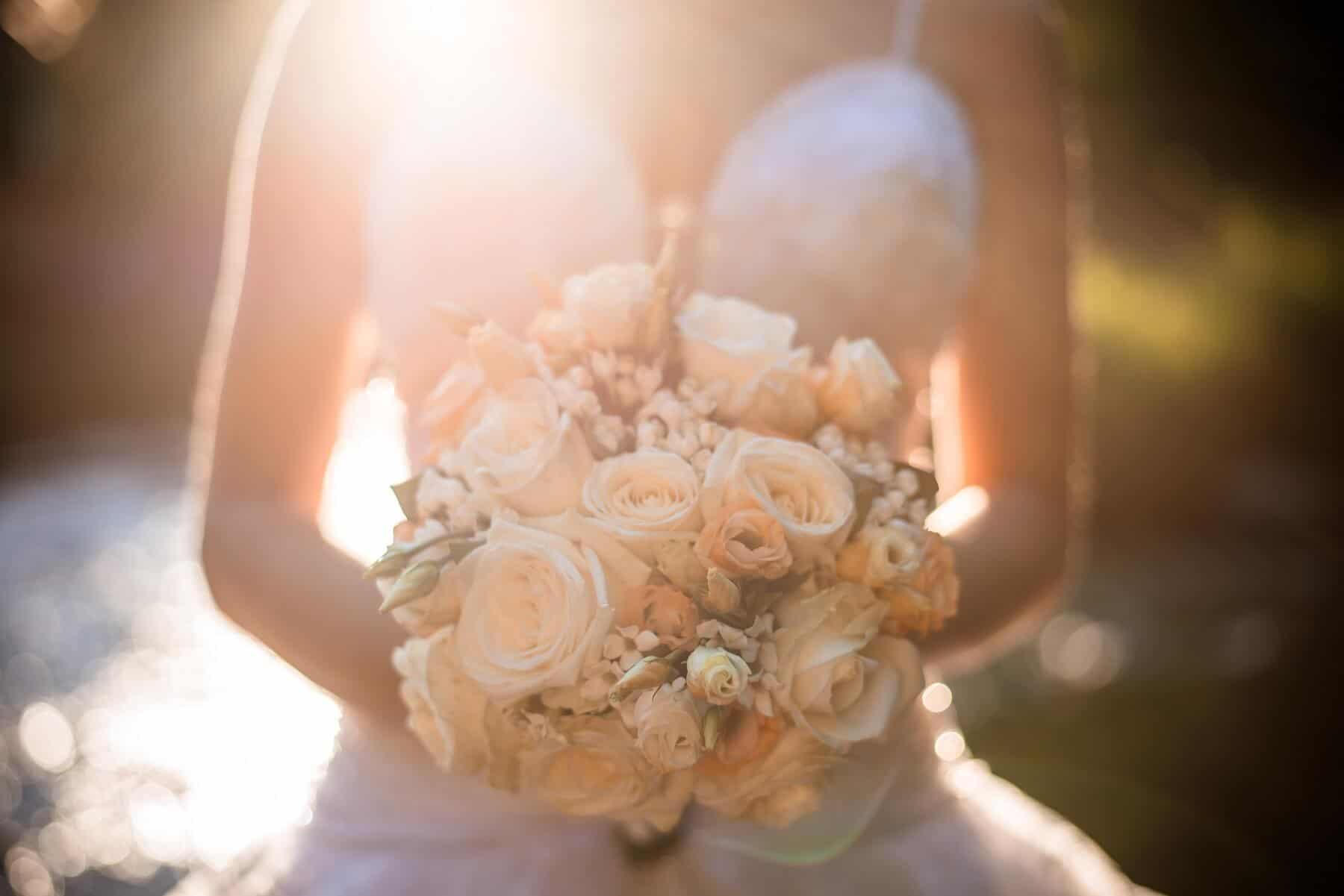 Hotel Hluboký Dvůr - svatební kytice