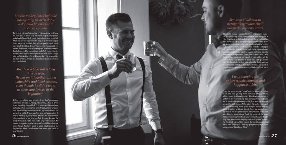 Marriage guide článek obleky