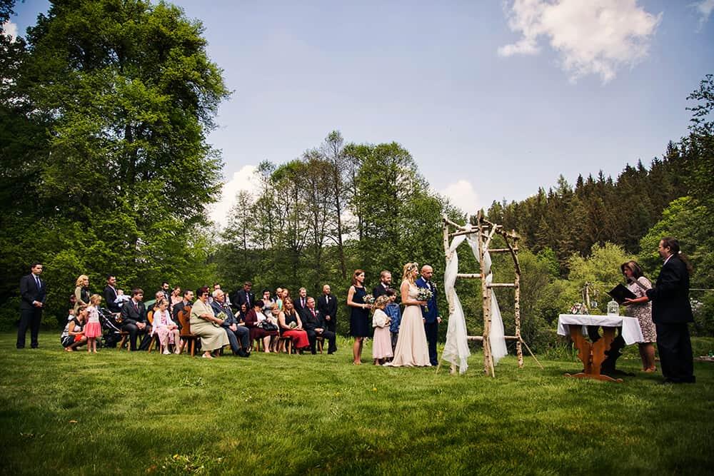 Peckův mlýn svatební obřad