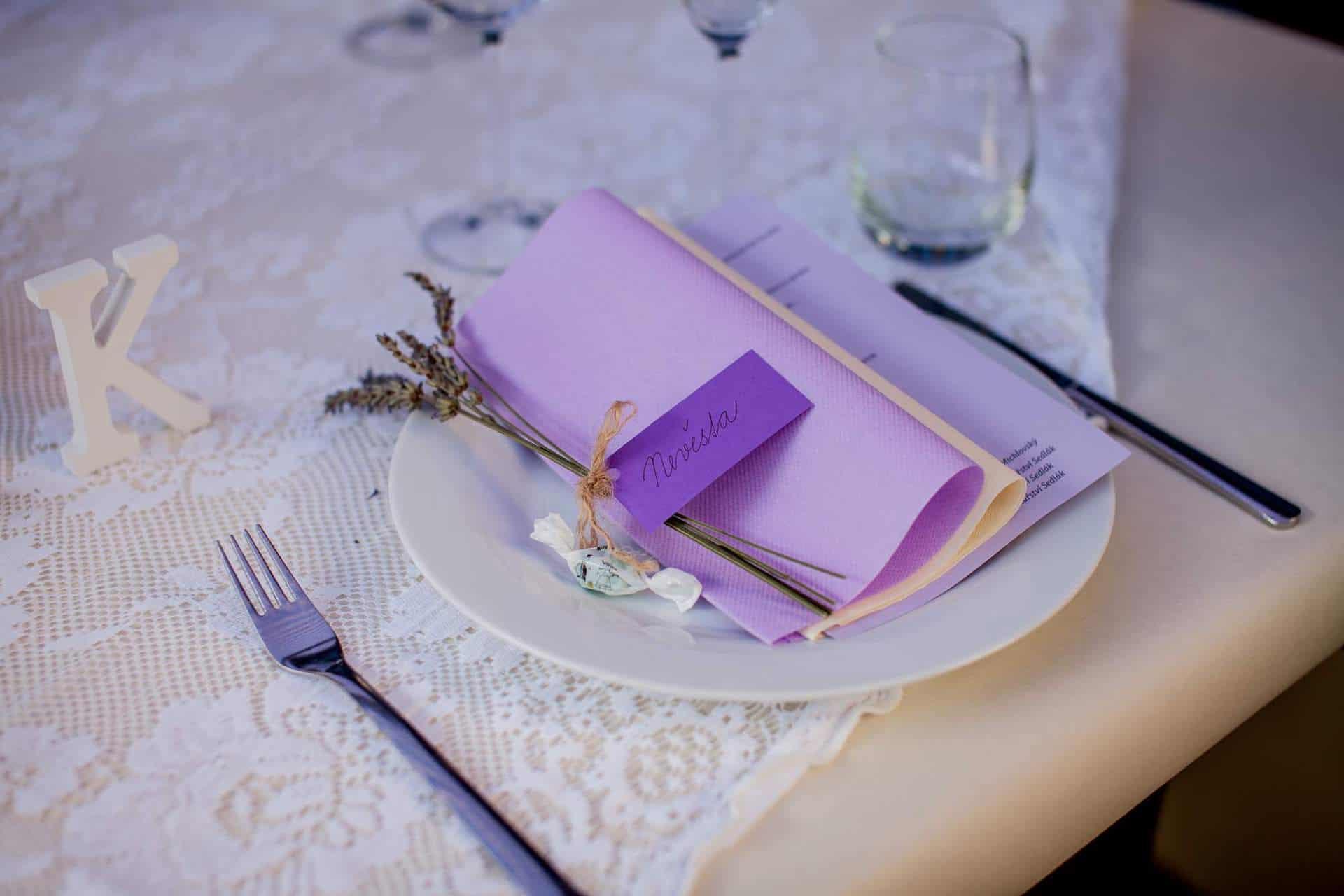 Hliněná bašta svatební tabule 14