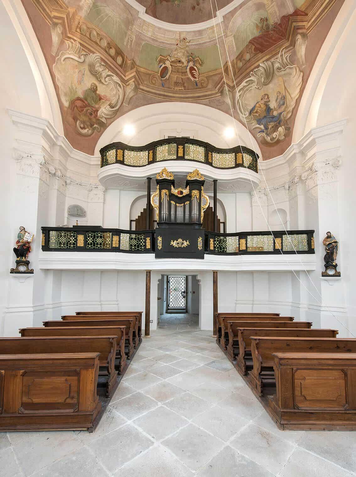 Zámek Mitrowitz kaple