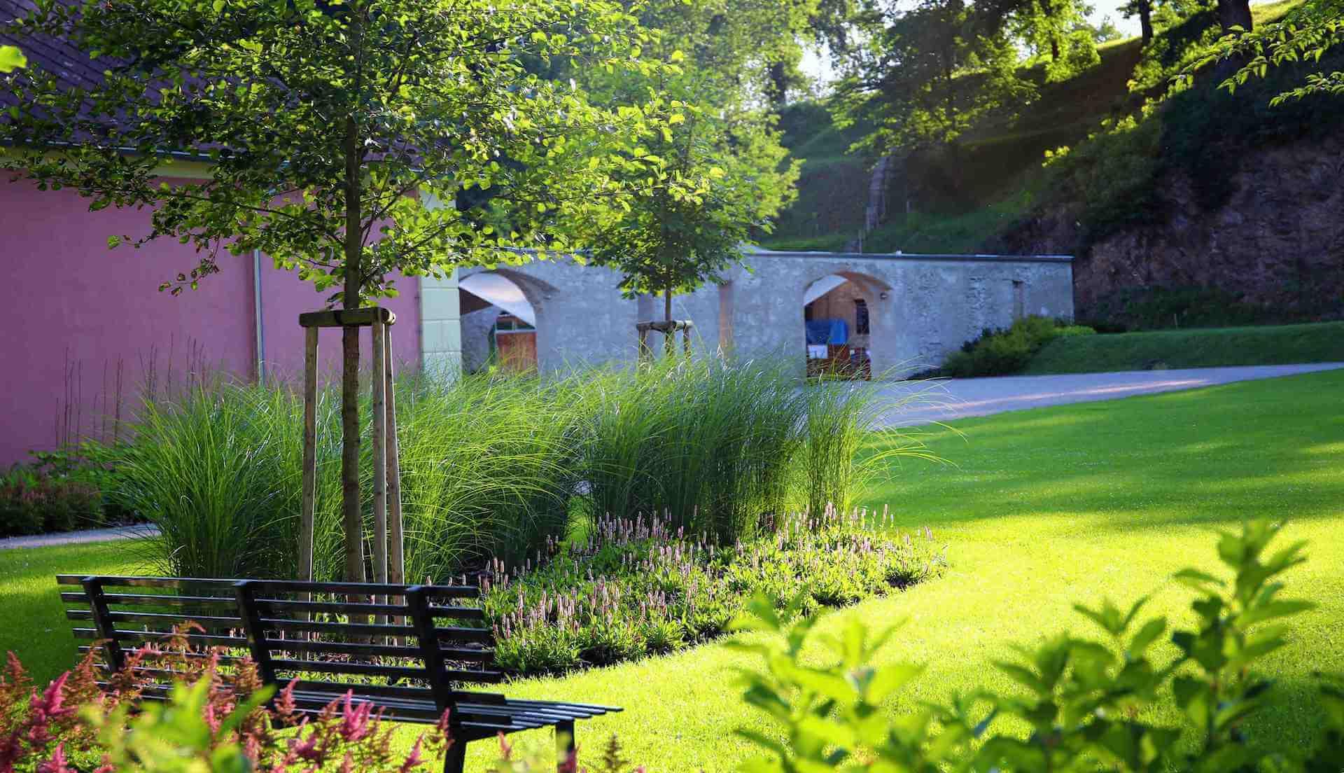 Zámek Mitrowitz zahrada