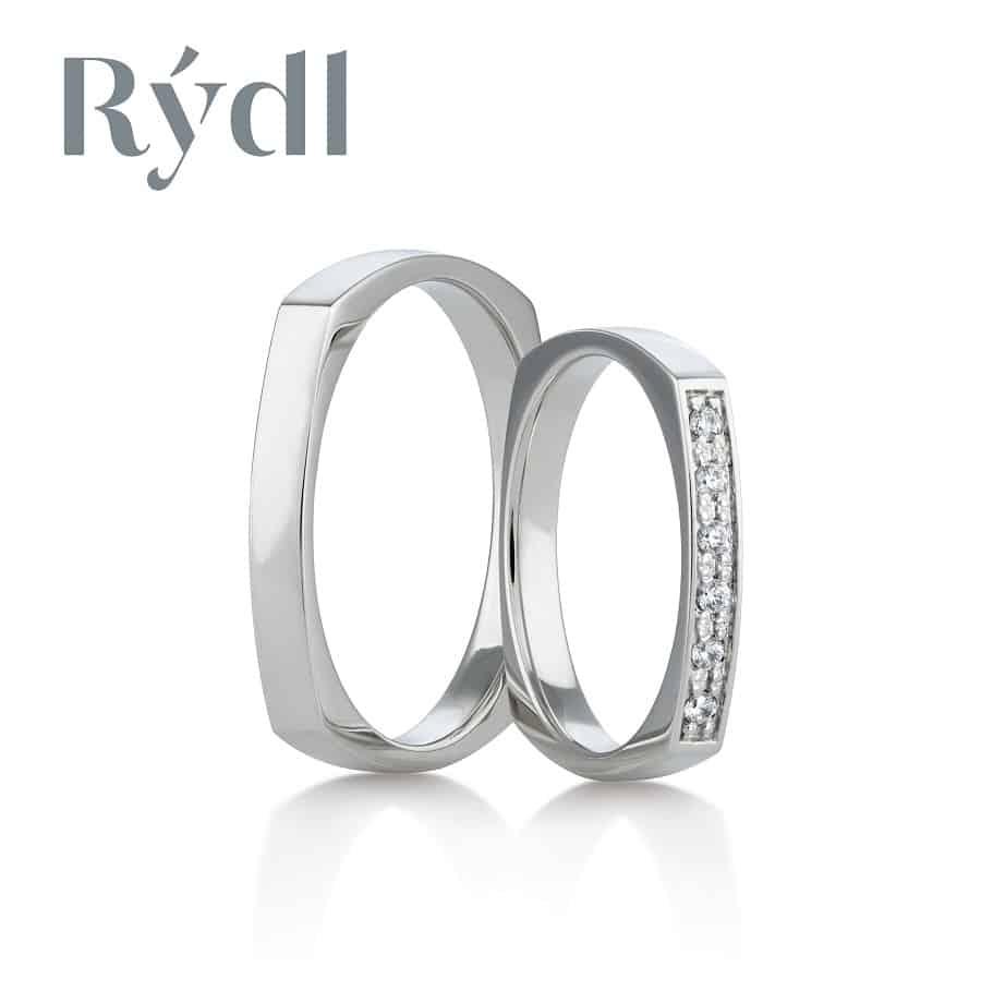 Snubní prsteny - model č. 147/04 celolesk