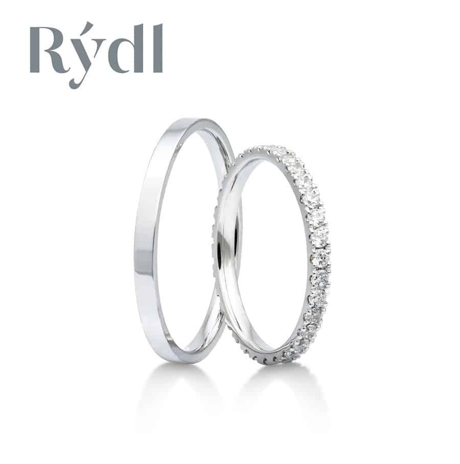 Snubní prsteny - model č. 320/02 celolesk