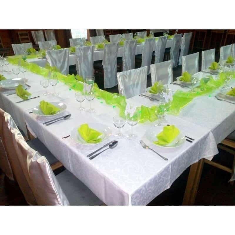 Zelená svatba - Svatební dekorace PCE