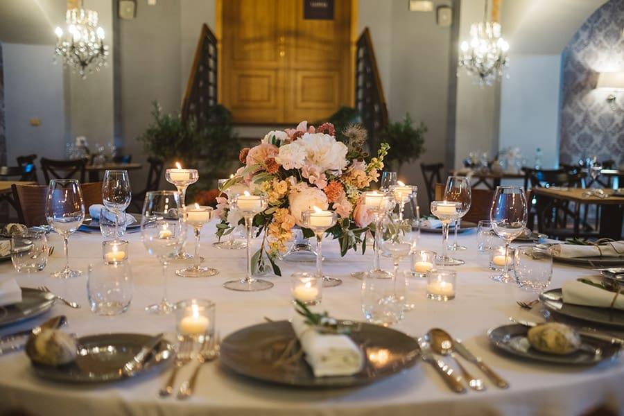 Hotel Granary svatební hostina