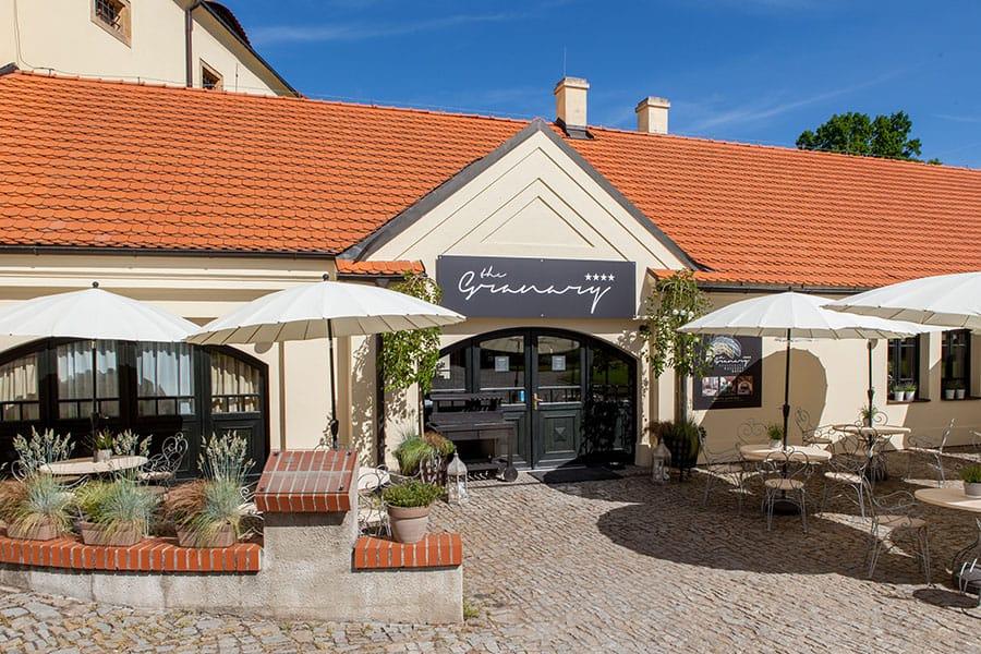 Hotel Granary vstup