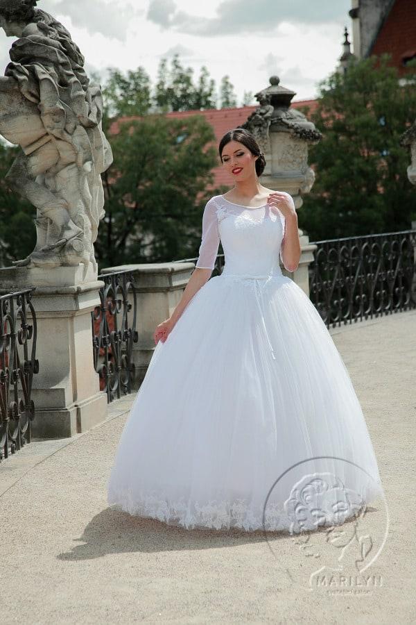 Svatebn šaty Amira