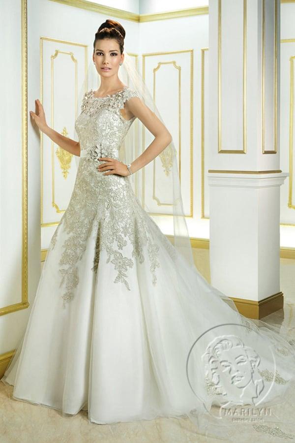Svatební šaty Cosmobella Vivien