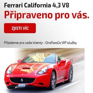 Půjč si na svatbu Ferrari California