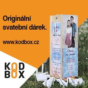 Originální svatební dar - Svatební krabice na míru
