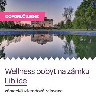 Originální svatební dar - wellness pobyt na zámku Liblice