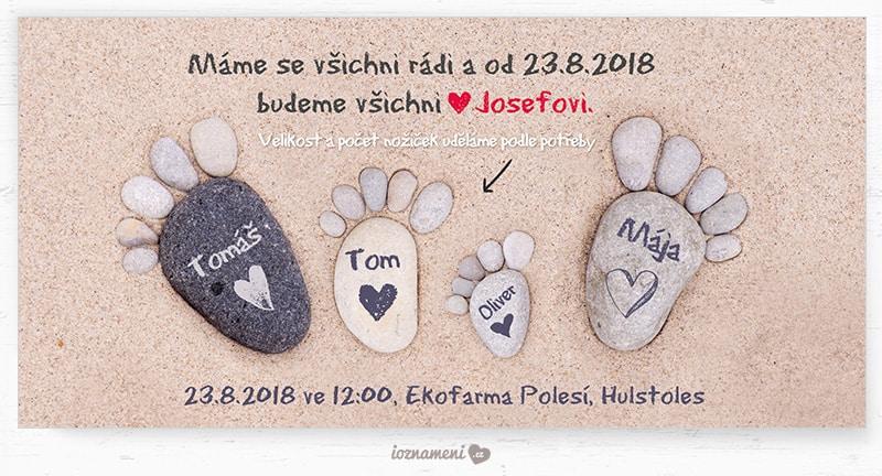 iOznameni.cz - Svatební oznámení - rodina Josefovi