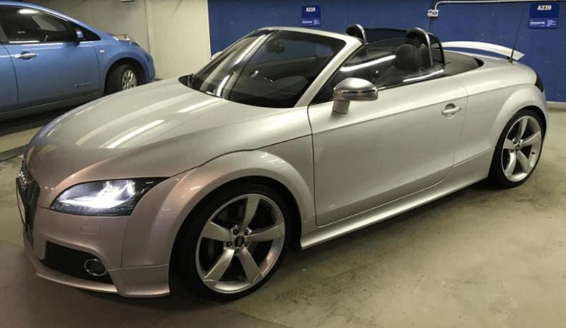 Autopůjčovna OneTwoGo - Audi TTS Cabrio Quattro