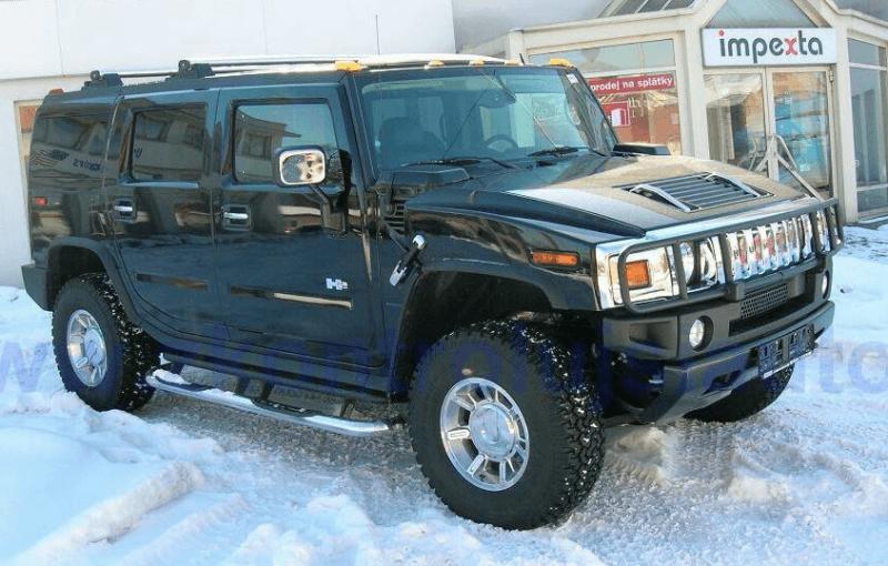 Autopůjčovna OneTwoGo - HUMMER H2 6.2 V8 4x4