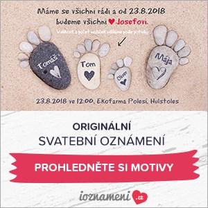 Svatební oznámení pro Vaší dokonalou svatbu - iOznámení.cz