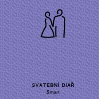 Svatební diář Smart barva fialová