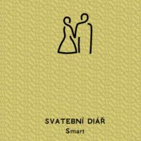 Svatební diář Smart barva zlatá