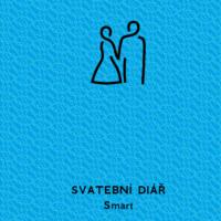 Svatební diář Smart barva modrá