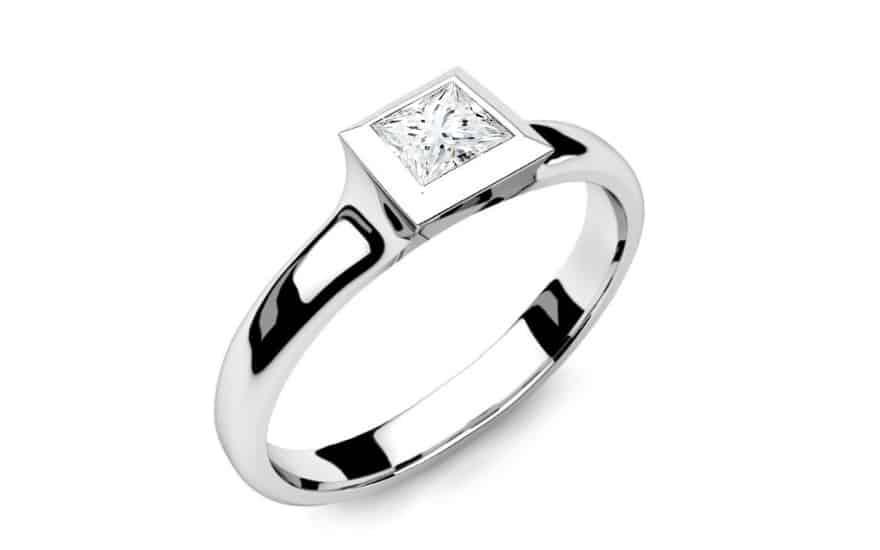 Zásnubní prsten s diamantem 0,300 ct Power Of Love 7
