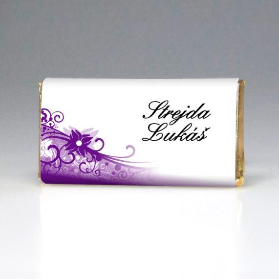 Čokoládová jmenovka strejda Lukáš