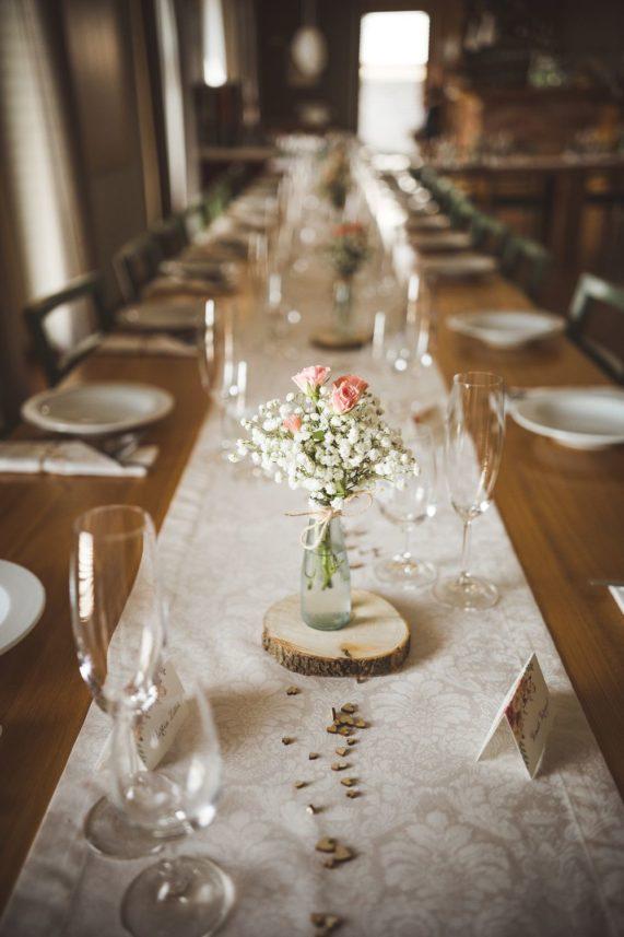 Svatební běhoun vyrobený z kvalitní 100% bavlny