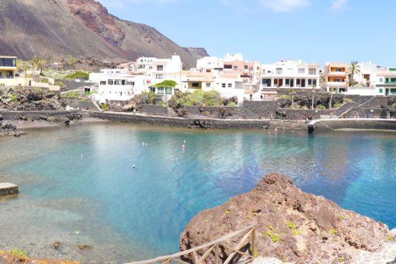 El Hierro - Tamaduste - záliv a veřejné lázně, foto 2