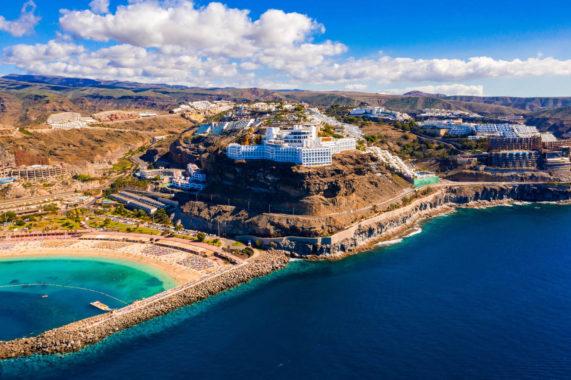 Grand Canaria - poblíž pláže Amadores