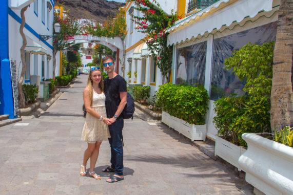 Grand Canaria - centrum města Puerto de Mogán
