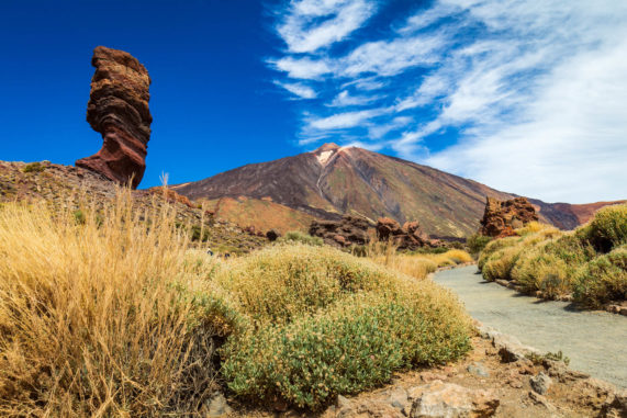 Tenerife - sopka hora Pico del Teide