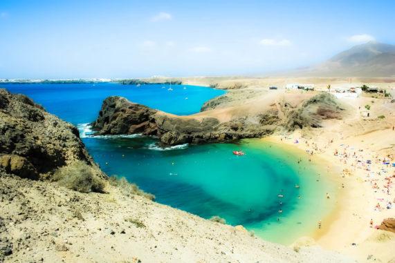 Lanzarote - pláž Papagayo
