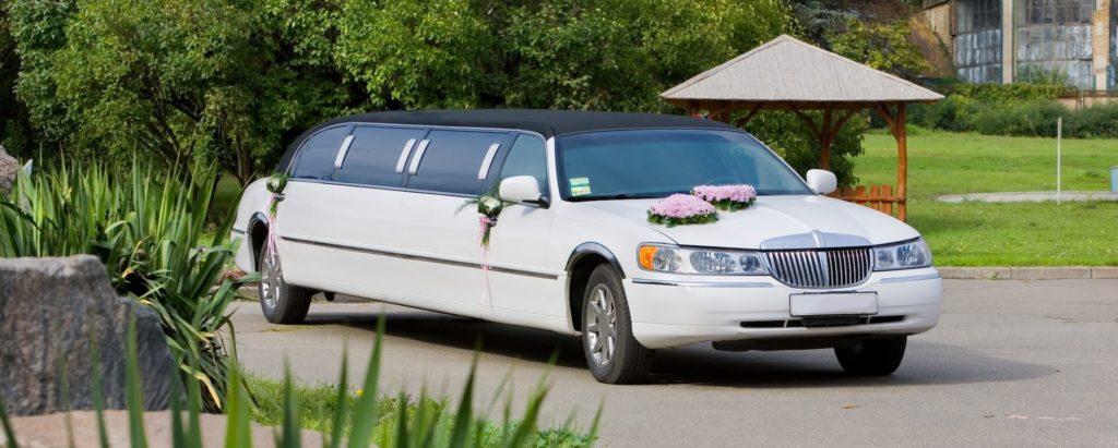 Svatební limuzína pro nevěstu - úvodní foto