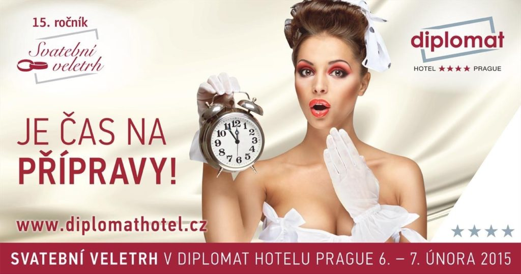 Svatební veletrh v hotelu Diplomat 2015