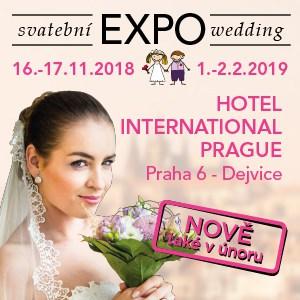 Svatební EXPO na podzim 2018 a nově i v zimě 2019