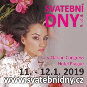 Svatební dny v Clarion Congress Hotelu Praha 11:-12.1.2019