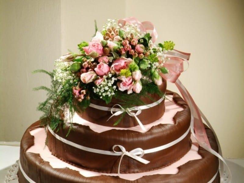 Čokoládovo marcipánový dort z Café Mozart