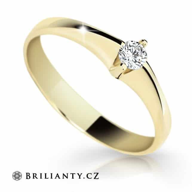 Tipy Na Zasnubni Prsteny Trend Je Bile Zlato S Diamantem Svet